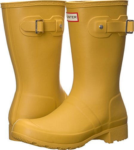 Hunter Women's Original Tour Short Rain Boots Fennel Seed 8 M US by Hunter