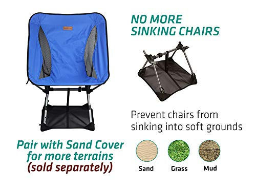 Backpacking Outdoor Compact Chairs with High Backrest and Carry Bag for Travel Lightweight Folding Camping Chair Festival Picnic MOVTOTOP Camping Chair with Adjustable Pillow Hiking Fishing