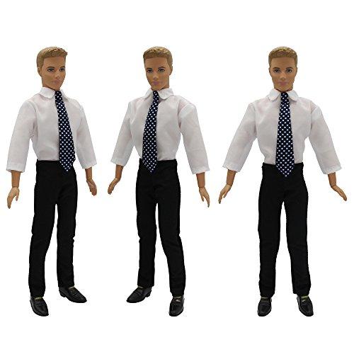 De Barbie Costume Vêtements Formel Tenue Bureau Pour Zita Ken Mode Poupées Element tIzqxwnRf