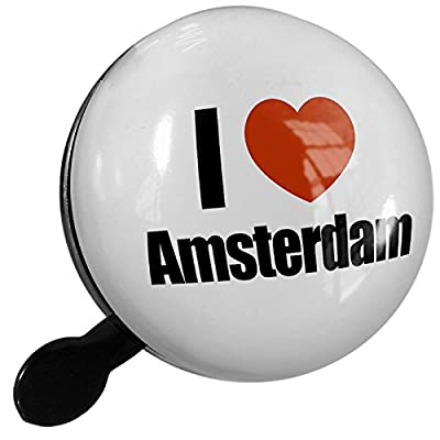 Small Bike Bell I Love Amsterdam region: the Netherlands - NEONBLOND from Neonblond