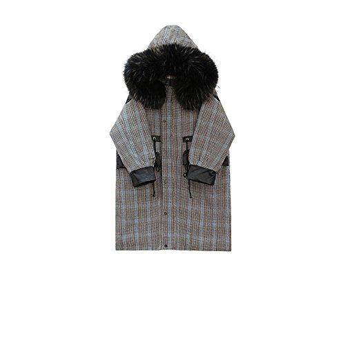 de invierno chaqueta abrigo Mujeres ropa algodón En de algodón de los largo meses O1qvxt