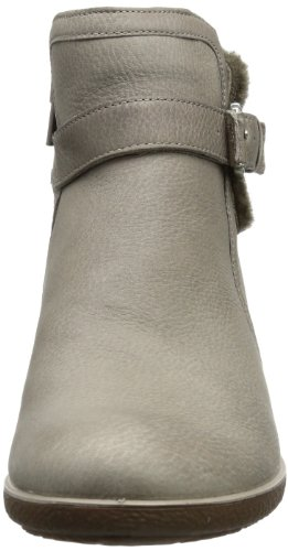 Ecco Shiver W D.Shadow Qua/DF 220623 Damen Stiefel Grau (MOON ROCK/COCOA BROWN-WARM GREY)