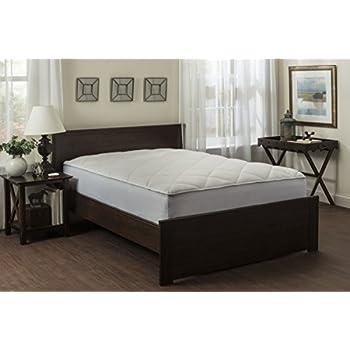 luxurious fitted down alternative mattress pad 100 cotton top mattress topper 300