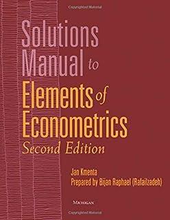 Elements Of Econometrics Second Edition Jan Kmenta 9780472108862