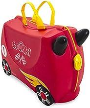 Mala Infantil Trunki - Carro de Corrida - Sua viagem muito mais divertida - cor Vermelho, Trunki, Multicolorid