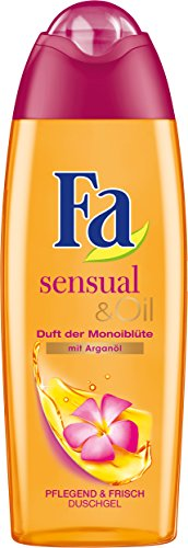 Fa Duschgel Sensual & Oil Monoiblüte, 6er Pack (6 x 250 ml)