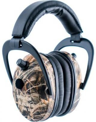 Pro Ears - Pro 300 - Electronic Hearing Protection and Amplification - NRR 26 - Ear  Muffs - Max 4 Camo by Pro Ears