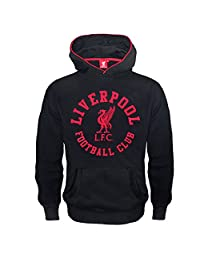 Liverpool FC Official Soccer Gift Boys Graphic Fleece Hoody 12-13 Yrs XLB