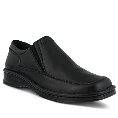 Enzo Step Loafer Spring Men's Black ERqvUdx