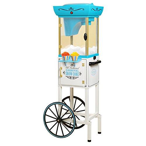 - Nostalgia Electrics Vintage Collection Snow Cone Cart, Snow Cone Machine