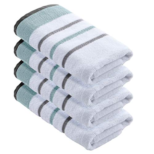 Great Bay Home 4-Pack Luxury Hotel/Spa 100% Turkish Cotton S