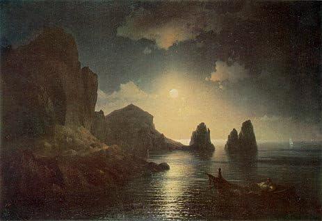 Amazon|イヴァン・アイヴァゾフスキー( A Sea View、1841 )手描き ...