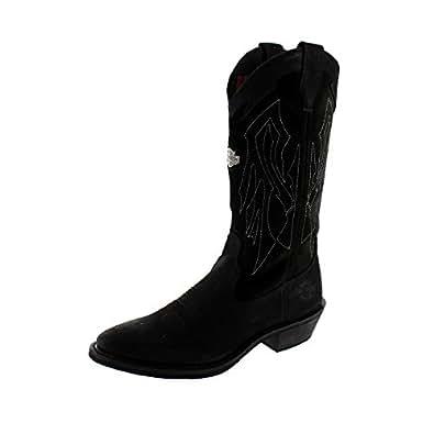 Harley-Davidson Men's Galen Motorcycle Boot, Black, 13W