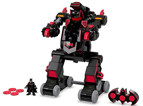 Fisher-Price Imaginext DC Super Friends, R/C Transforming Batbot (Remote Batman Control)