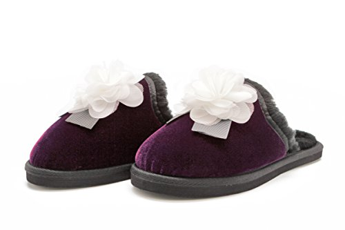 Alice Spring Plush Outdoor Indoor Slippers for Women - Springs Alice Shops