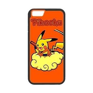At-Baby Japanese Anime Pokeman Pikachu Waterproof Dustproof Shock-Absorbing Custom Phone Case Cover For Apple Iphone 6 (4.7 inch) TT1