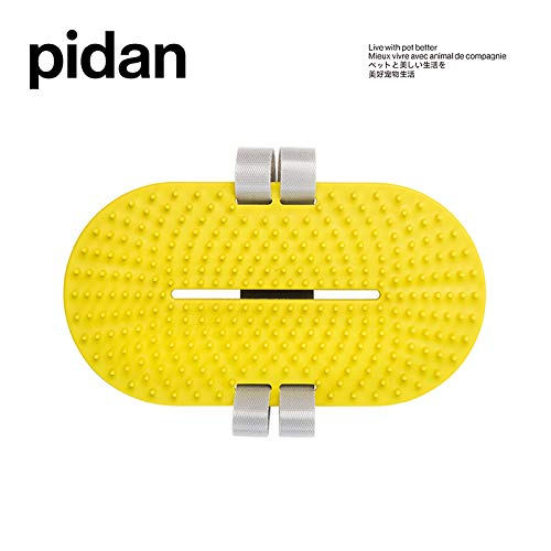 (Pidan Pet Massage Glove Grooming Pad Gentle Deshedding Brush Bath Brush Perfect for Cats and Dogs Small Animal Long Hair and Short Fur for Left Hander and Right Hander)