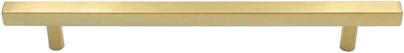 15 St/ück M/öbelgriff 128mm Edelstahl T/ürgriffe LS1212GD128 Messing Schrankgriff Gl/änzend Stangengriff Schubladegriff M/öbelgriffe Relinggriff K/üche Badzimmer