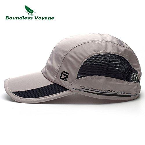 尽きるホースミスペンドCATOP 軽量 速乾 UVカット 野球帽 調節可能 防水スポーツ 釣り テニス ゴルフ バイザー 帽子