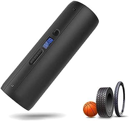 Hcxh-A automático del compresor de aire portátil, bomba de emergencia recargable inalámbrico digital portátil de aire, cargador de teléfono móvil, multifunción inflador, bicicleta, carro, inflador bol