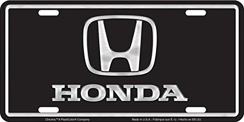 Chroma Graphics 2004 Aluminum Honda Brushed Tag