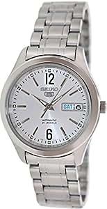 Seiko  SNKM53K1 - Reloj de automático para hombre, con correa de acero inoxidable, color plateado
