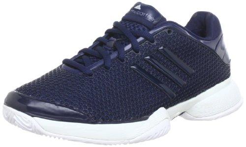 adidas aSMC barricade, Baskets de tennis femme Bleu - Blau (COLLEGIATE NAVY / BLUE MET. S08 / PRIME BLUE S12)