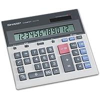 Sharp QS-2130 12 Digit Commercial Desktop Calculator with Kickstand, Arithmetic logic