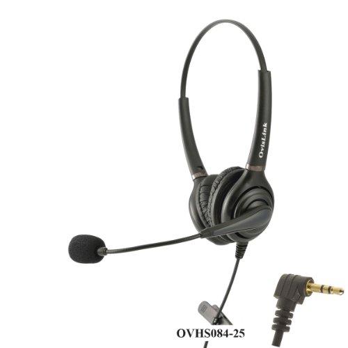 Ovislink Dual Ear 2.5mm Call Center Headset for Cisco SPA...