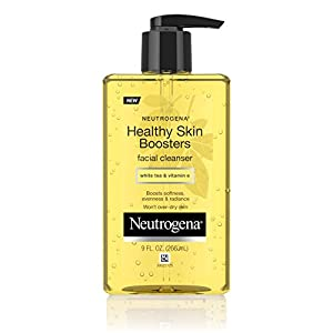 Neutrogena Healthy Skin Boosters Facial Cleanser, 9 Fl. Oz