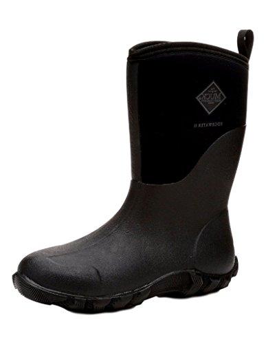 Muck Boot Company Men's Edgewater 2 Mid, Color: Black, Size: 15 (Ew2m-000-Blk-15 ()