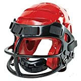 ProForce® Lightning Helmet with Faceguard - RED - size Small