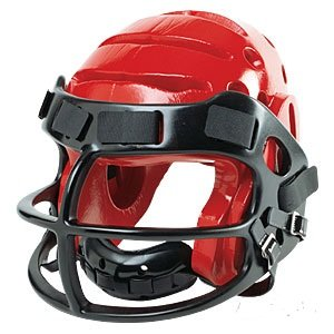 ProForce® Lightning Helmet with Faceguard - RED - size Small by Pro Force