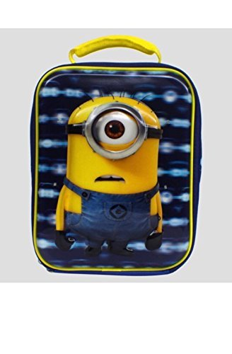(Despicable Me Minions Lunch Box - Lights Up! Insulated)