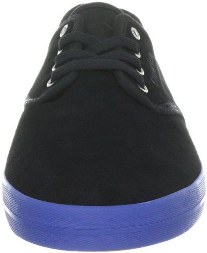 Emerica WINO 6101000088 - Zapatillas de skate de ante para hombre Negro (black/blue/black)