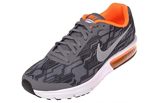 Max Orange Air Competition Men Reflect Nike total gs Shoes Sequent Grey s Grey Cool Silver Running Print q4twa