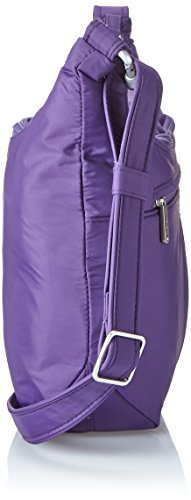 Hobo Anti Travelon Size One Slouch Classic Theft Purple Black f7fInHazx