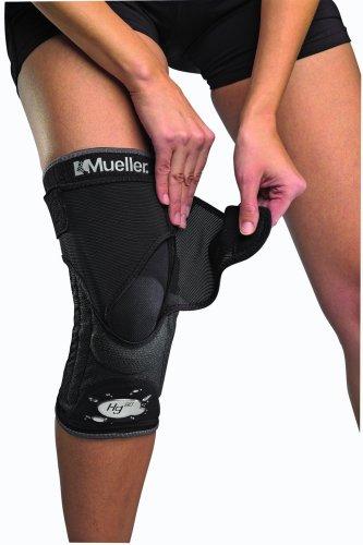 Mueller Kniebandage mit Kevlar Hg80 mit HydrCinn Gewebe, schwarz, M