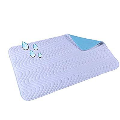 Kitchen Gloves, Quilted Thicker Waterproof Changing Pad Liners Super Absorbent Diaper Pad Old Adult Baby Can Be Machine Washable Non-slip Diaper Baby Mattress
