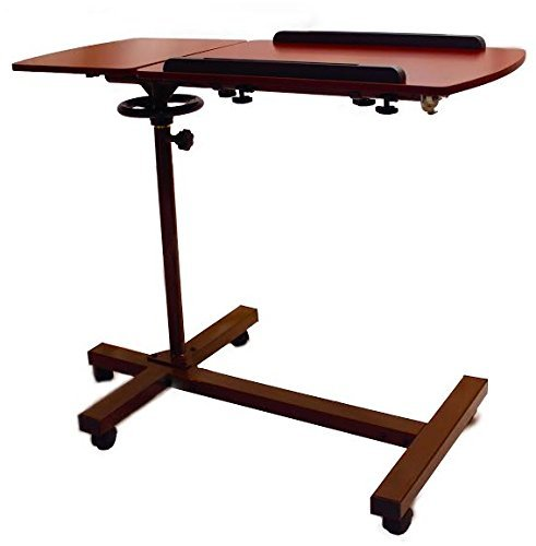 sharper-image-best-over-bed-table-overbed-adjustable-tilt-table