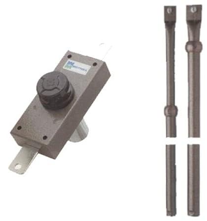 Berti Ferramenta 290948375671 - Cerradura de seguridad Mottura Artículo 326 con bomba-cilindro de 60