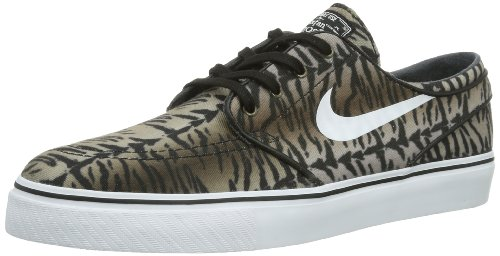 Nike Men's Zoom Stefan Janoski Cnvs Black/White/Medium Olive Skate Shoe 9  Men US - Buy Online in UAE. | Shoes Products in the UAE - See Prices, ...