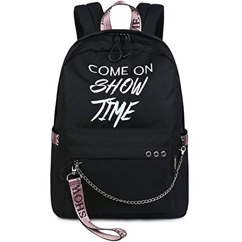 Fashion Cute School Backpack Luminous Casual School bookbag for Girls Water-Resistant Travel Bag for Teen Girls Women
