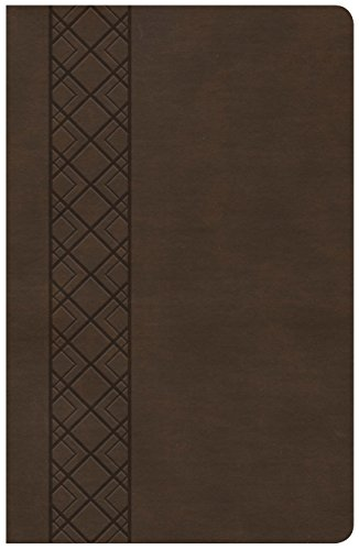 (KJV Ultrathin Reference Bible, Value Edition, Brown LeatherTouch)
