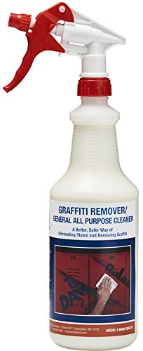 One Shot BGMI-28GR All Purpose Cleaner and Graffiti Remover with Trigger Sprayer, 28 oz (Remover Trigger Sprayer)