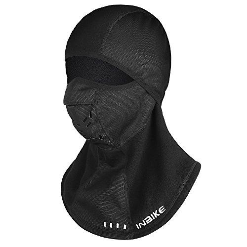 (INBIKE Balaclava Ski mask Snow Mask for Men Running Face Mask (Mesh + Polar Fleece) 1)