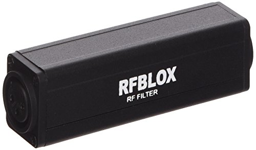 Rapco Horizon RFBLOX RF Choke XLRF-XLRM by Rapco Horizon