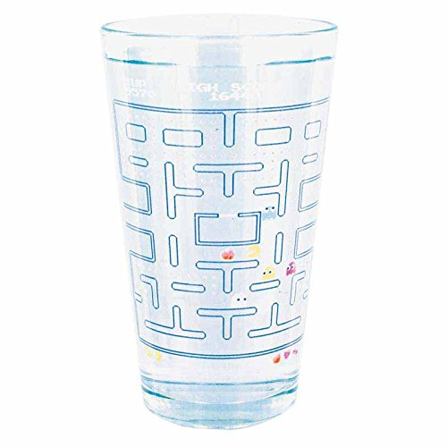 Paladone Pacman Cold Change Pint Glass (Pacman Game Watch)