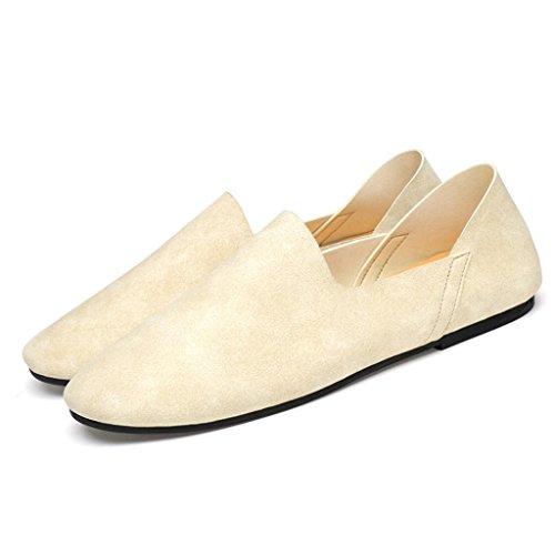 Zapatos Los White Los Fibra De La Zapatos Calzan Los Hombres Zapatos De Estupendos Antideslizantes 8g8rSTqn