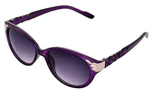 SHVAS UV Protection Cat Eye Womens Sunglasses [CATPROPURP]